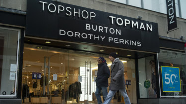 Around 25,000 jobs are at risk if Arcadia and Debenhams cannot be saved.