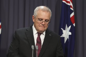 Scott Morrison has struggled to convince women he's on their side.