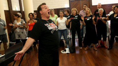 Choirmaster sorry over charity confusion