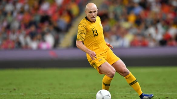 Cruel blow: Aaron Mooy, one of Australia's most influential players, won't compete in the Asian Cup.