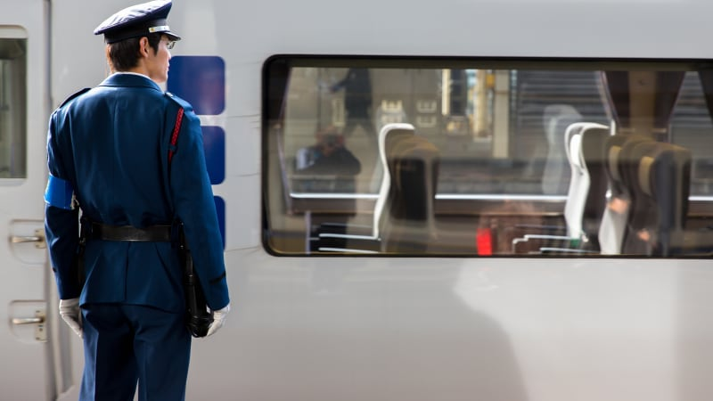 Japanese rail company apologises after a train leaves 25 seconds early