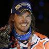 Broken but not beaten, Price's sights on second Dakar crown