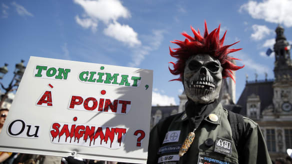 Global marches seek urgent action on climate change