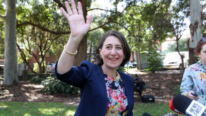 Out with the old; in with the new: Berejiklian shakes up NSW government