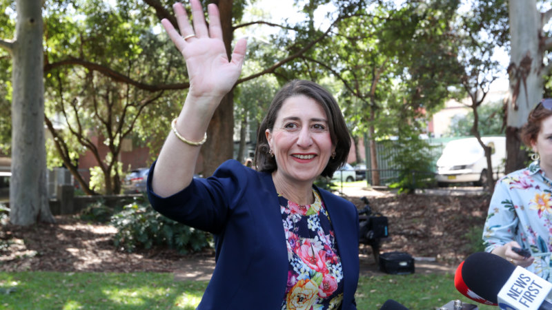 Premier Gladys Berejiklian consolidates NSW government departments