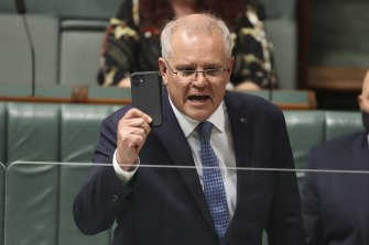 Prime Minister Scott Morrison is backing a technological solution to emissions reduction.