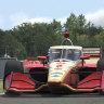 McLaughlin gives Indycar virtual lesson