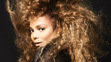 Janet Jackson returned to Australia after an eight-year break.