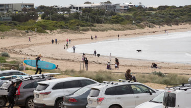 The population has risen quickly at Torquay in recent years.