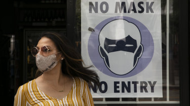 The Goldman analysis found that a national mandate could increase the number of people wearing masks by 15 percentage points, and cut the daily growth rate of confirmed cases by 1 percentage point to 0.6 per cent.