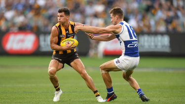 Re-signed: Hawthorn's Jaeger O'Meara.