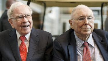 Warren Buffett, 89, and business partner Charlie Munger, 96.