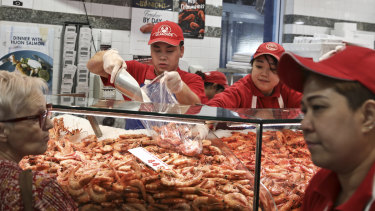 Tassal wants to be producing 20,000 tonnes of prawns a year within ten years.