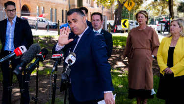 Nationals leader John Barilaro has threatened to leave the Coalition over koala protection laws.