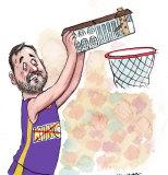 Basketballer Andrew Bogut.