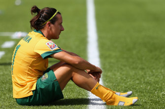 Lisa De Vanna made allegations of a toxic culture within the Matildas, including harassment and bullying.