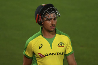 A hamstring injury while bowling in the IPL is a concern for Marcus Stoinis ahead of the T20 World Cup.