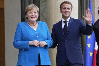Emmanuel Macron and Angela Merkel built a close personal and professional relationship.