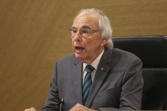 Perth Casino Royal Commission chairman Neville Owen.