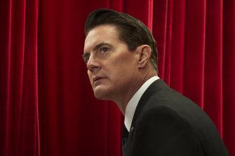 Kyle MacLachlan in Twin Peaks reboot, now streaming on Stan.