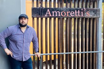 Gabriele Moretti who runs Amoretti restaurant in Abbotsbury does not want to discriminate against customers who are not vaccinated against COVID-19.
