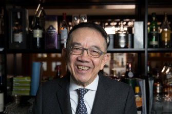 After nearly half a century of legendary lunches, Mathew Chan retires from Peacock Gardens.