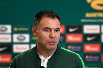 Matildas coach Ante Milicic will coach Macarthur FC in the A-League next season.