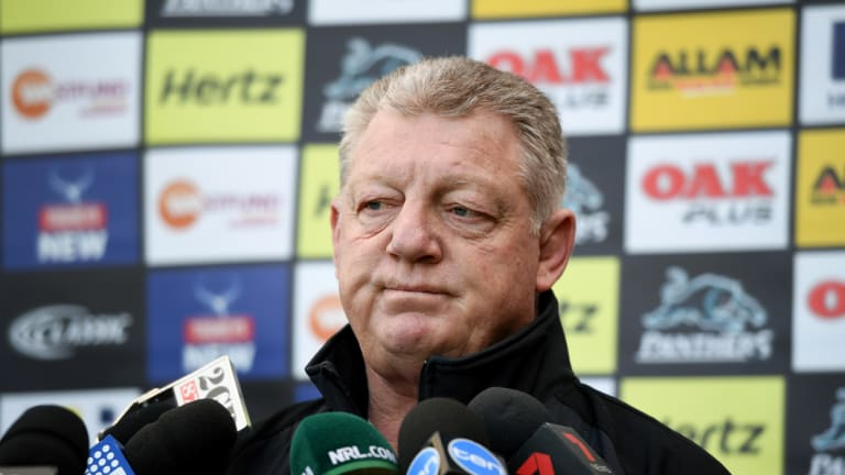 'Soft' jibe: Phil Gould's comments stoked the Panthers-Sharks rivalry.