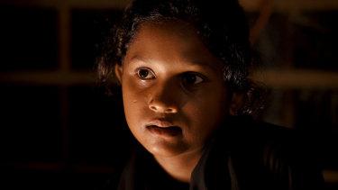 Rohingya refugee Yasmin Akhter, 13, in Kutupalong Camp in Cox's Bazar in July.
