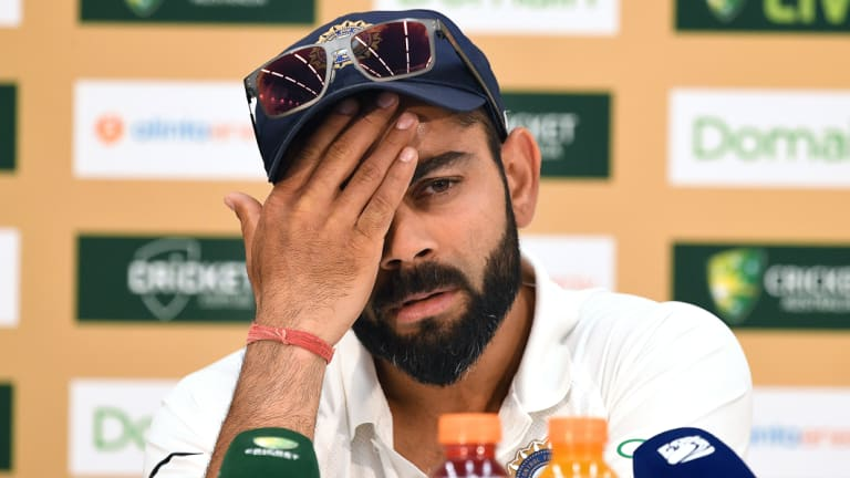 """The BCCI has slammed reports of an alleged sledge by Virat Kohli to Tim Paine as """"baseless""""."""