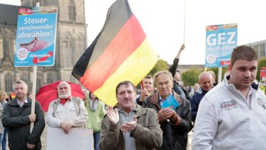 The rise of the far-right Alternative for Germany, or AfD, had convinced some in Merkel's party that they needed to adopt more conservative policies.