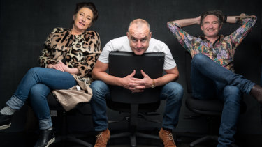 Comedians Fiona O'Loughlin, Jimeoin and Dave Hughes will be heading to Sydney for the Sydney Comedy Festival.