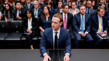 Facebook CEO Mark Zuckerberg  testified before US Congress last year.