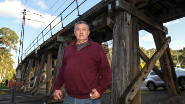 Eltham resident John O'Brien says the Hurstbridge line urgently needs an upgrade to ease road congestion.