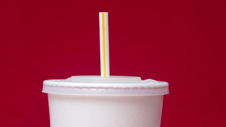 Plastic straws are on the EU's environmental hit list.