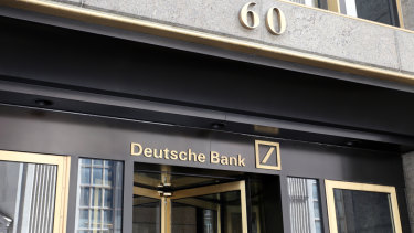 It is a depressing atmosphere at Deutsche Bank's New York headquarters.