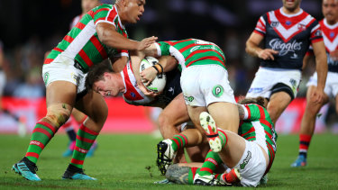 Roosters back-up hooker Sam Verrills has shone in the absence of skipper Jake Friend.