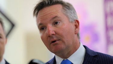 Shadow Treasurer Chris Bowen said 96 per cent of Australians would not be impacted by the tax changes.