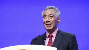 Singaporean Prime Minister Lee Hsien Loong wants trade deal with Australia to cover the digital economy.