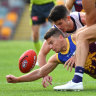 Lions' captain Zorko in doubt for Eagles