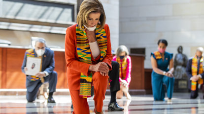 Kente cloth is beloved in Ghana. Why did Democrats wear it to launch push against police brutality?