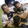 Brumbies gallop through the fog and into Super Rugby finals