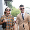 The stylish men at Fashion Week had one thing in common