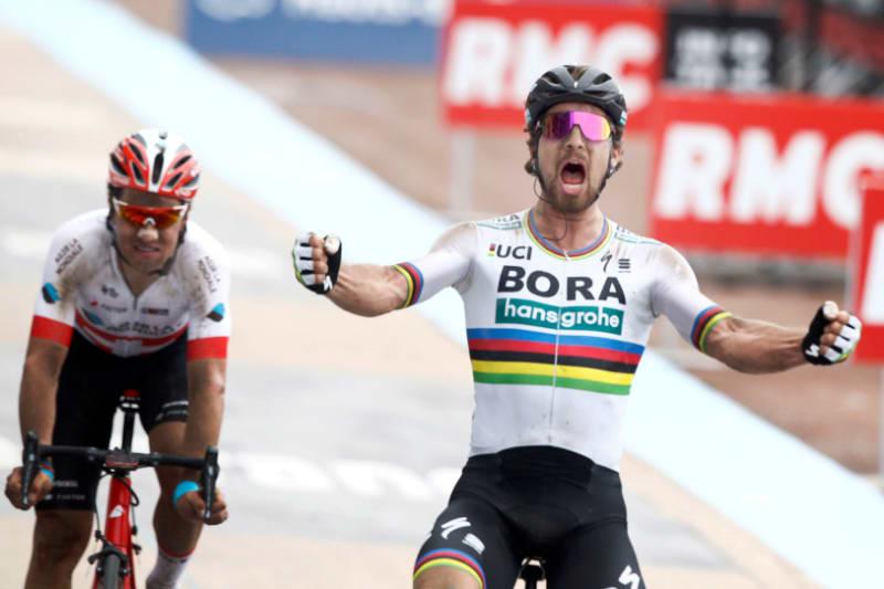 World champion Peter Sagan shows his class in gutsy Paris-Roubaix win