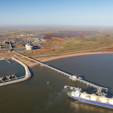 Chevron's Wheatstone LNG project.