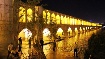 Spellbinding sights in Iran's city of picnickers