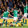 Dominant Ireland send series to a decider, Australia lose Genia