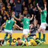The change up that Ireland hopes will help claim Wallabies decider