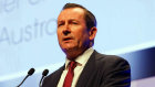 """WA Premier Mark McGowan told the APPEA conference that Australia """"can and should"""" have a good relationship with its largest trading partner."""