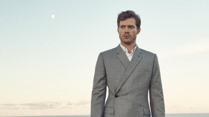 Sam Reid shows his sunny side at the Sydney Film Festival